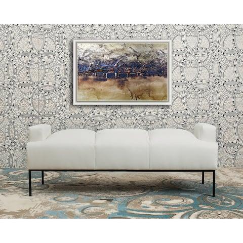 Chic Home Celicia Pebble Grain PU Leather Bench