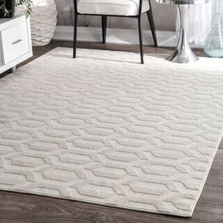 nuLOOM Contemporary Geometric Raised Hexagons Ivory Rug (7'6 x 9'6)|https://ak1.ostkcdn.com/images/products/17211139/P23469035.jpg?impolicy=medium