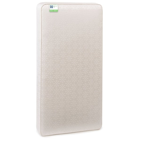 Sealy FlexCool 2-Stage Airy Crib and Toddler Bed Mattress - White
