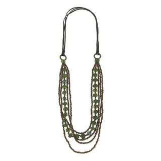 Kele & Co Fashion Bead Layering Necklace