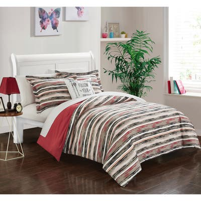 Chic Home Chona Brick 8-Piece Bed in a Bag Set