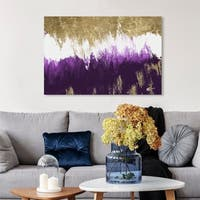 Oliver Gal 'Adore Amethyst' Canvas Art