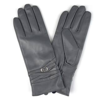 Journee Collection Women's Fashion Genuine Leather Gloves|https://ak1.ostkcdn.com/images/products/17211988/P23469699.jpg?impolicy=medium