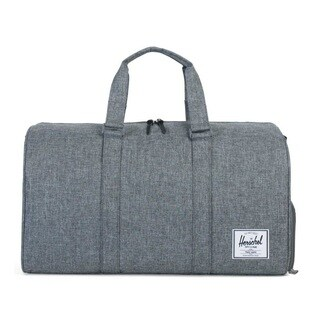 Herschel Supply Novel Raven Crosshatch Duffel Bag