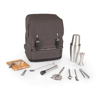 LEGACY® 'Bar-BackPack' Portable Cocktail Tote, (Grey)