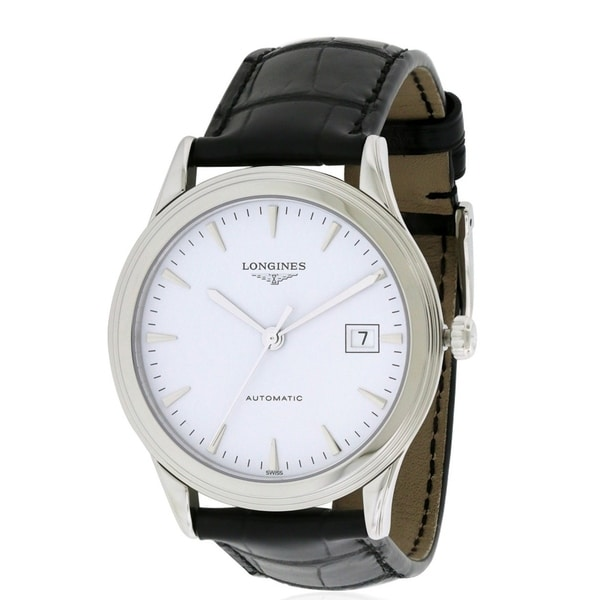 6239ddbf22e Shop Longines Flagship Mens Watch - Free Shipping Today - Overstock -  17212174