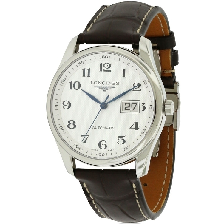 Longines Master Collection Mens Watch L26484783, Black, S...