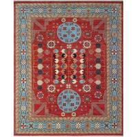 Noori Rug Aria Arzad Rust/Blue Rug - 7'8 x 9'9
