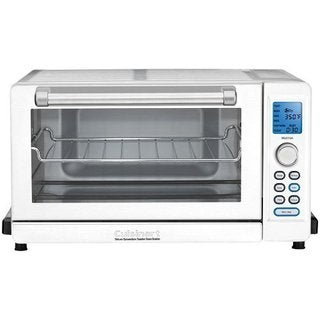 Cuisinart TOB-135W White Deluxe Refurbished Convection Toaster Oven Broiler