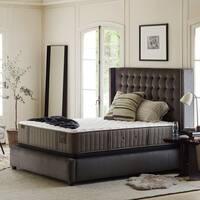 Stearns & Foster Oak Terrace 14-inch Luxury Cushion Firm King-size Mattress Set