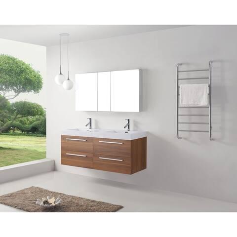 Finley 54-inch Double Bathroom Vanity Set