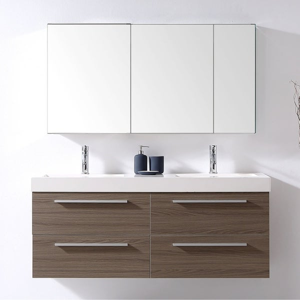 Brilliant Shop Finley 54 In Double Bathroom Vanity Set Ships To Best Image Libraries Sapebelowcountryjoecom