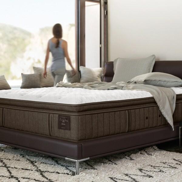 Stearns Foster Oak Terrace 14 5 Inch King Size Luxury Plush Euro Pillow