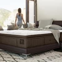 Stearns & Foster Oak Terrace 14.5-inch Queen-size Luxury Plush Euro Pillow Top Mattress