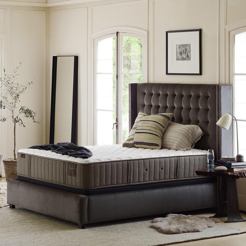STEARNS & FOSTER Oak (Brown) Terrace 15-inch Luxury Plush...
