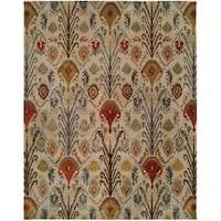 Hand-tufted Heirloom Multicolor Wool Rug (9'6 x 13'6)