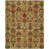 Heirloom Ivory Wool Hand-tufted Rug (9'6 x 13'6)