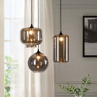 Urban Habitat Irene Grey 3-light Pendant