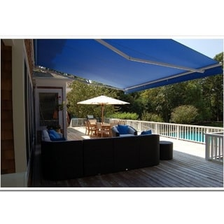 ALEKO Motorized 16x10 Feet Retractable Outdoor Patio Awning Sunshade