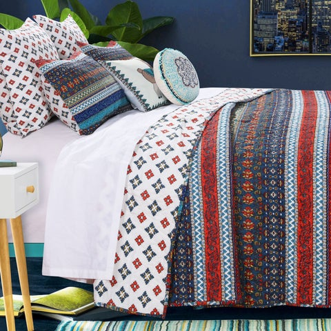 Barefoot Bungalow Brooklyn Quilt Set