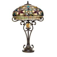 Tiffany Style Baroque Table Lamp