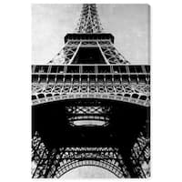 Oliver Gal 'Eiffel Tower Silver Sky' Canvas Art