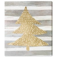 Oliver Gal 'Gold Tree' Canvas Art