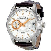 Hamilton Timeless Classic Railroad Automatic Leather Mens Watch H40615555