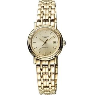 Longines Presence Automatic Gold-Tone Ladies Watch L43212328