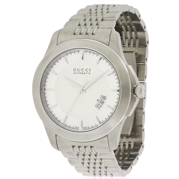 47e5591427b Shop Gucci Mens Timeless Watch - Free Shipping Today - Overstock.com -  17213698