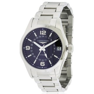 Longines Conquest Classic Stainless Steel Automatic Mens Watch