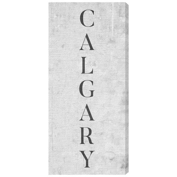 Oliver Gal 'Calgary' Canvas Art