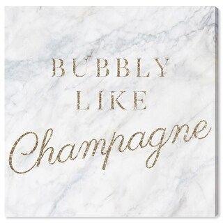 Oliver Gal 'Bubbly Like Champagne' Canvas Art