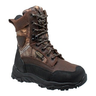 "Children's 8"" Camo Dark Brown"