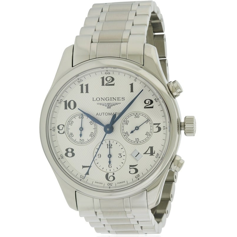 Longines Master Collection Mens Watch L27594786, Black, S...