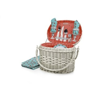 PICNIC TIME® 'Romance' Picnic Basket, (Watermelon Collection)