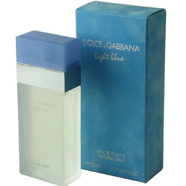 2e4c9067 Shop Dolce & Gabbana Light Blue Women's 1.7-ounce Eau de Toilette Spray -  Free Shipping Today - Overstock - 1722224
