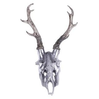 16X16X2 Deer Skull Wall Sculpture