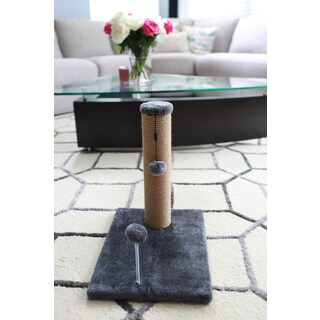 "15"" Jute Cat Scratching Post"