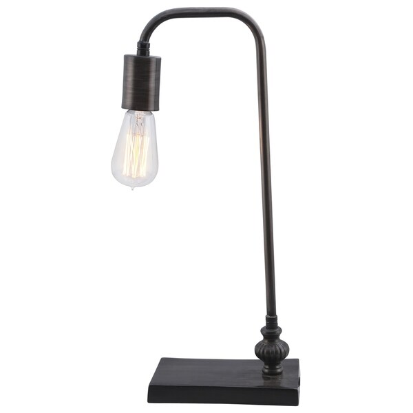 Renwil Amber Black Zinc Table Lamp