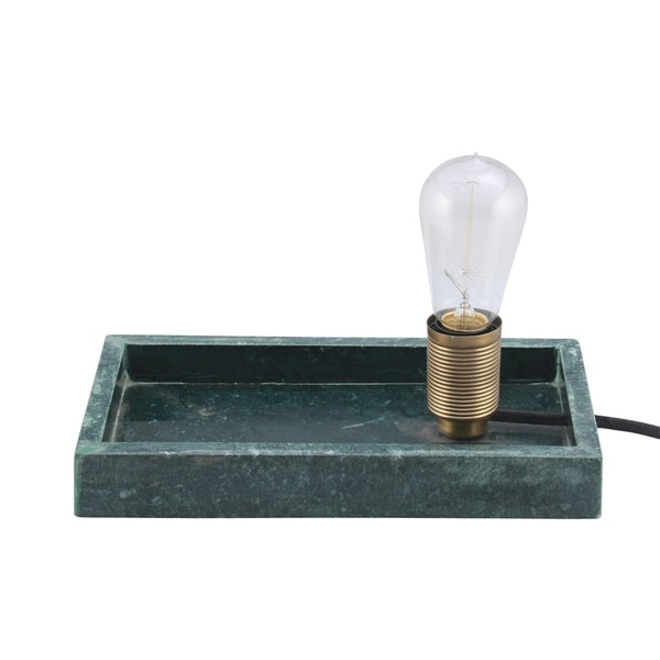 Renwil Clor Green Marble Table Lamp