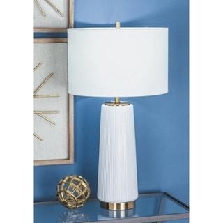Urban Designs Elegant Ceramic 26-Inch Table Lamp (Set of 2)