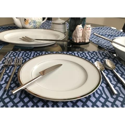 Inox Jason Design 20-piece Nascent Steel Flatware Set