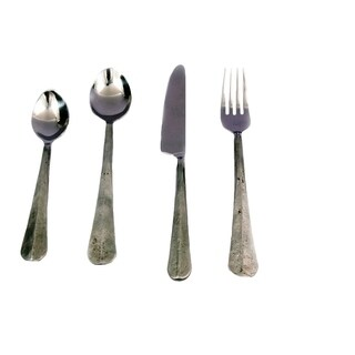 Inox Ridge Design 5-piece Nascent Steel Flatware Set