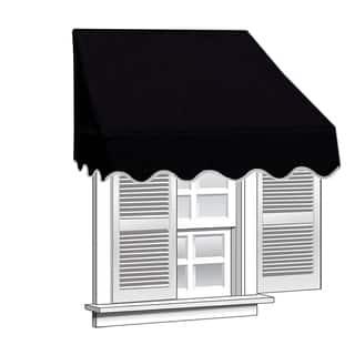 ALEKO 8 feet X 2 feet Window Awning Door Canopy Sun Rain Shade Shelter