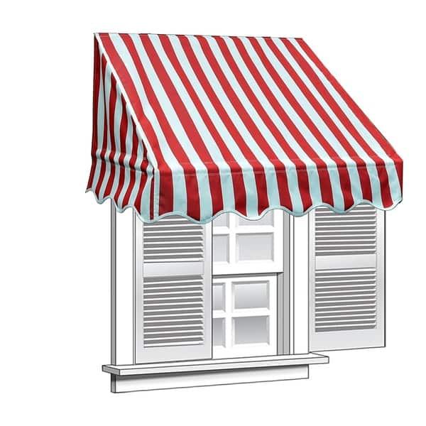 cheap for discount aeea3 16c32 Shop ALEKO 6 feet X 2 feet Window Awning Door Canopy Sun ...