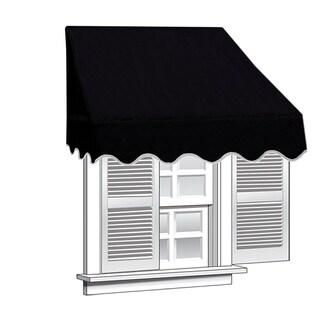 ALEKO 6 feet X 2 feet Window Awning Door Canopy Sun Rain Shade Shelter
