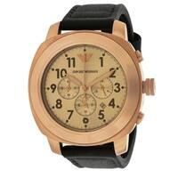 Emporio Armani Sport Leather Mens Watch AR6087
