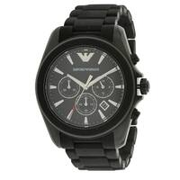 Emporio Armani Sport Rubber Chronograph Mens Watch