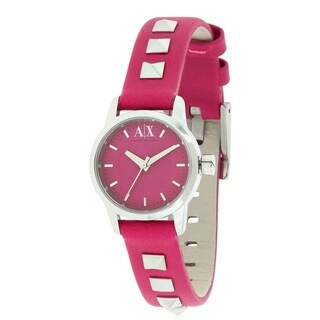 Armani Exchange Leather Ladies Watch AX6022